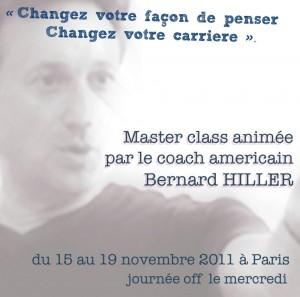 Bernard Hiller Masterclass Paris