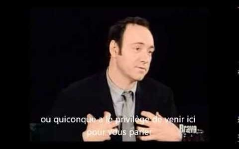 [Video] Kevin Spacey révèle comment devenir acteur
