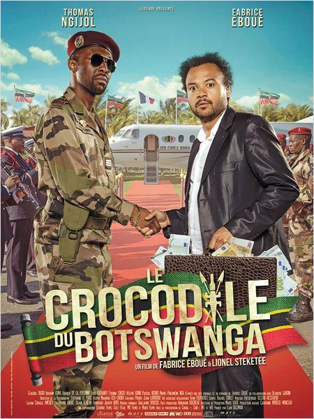 affiche crocodile du botswanga