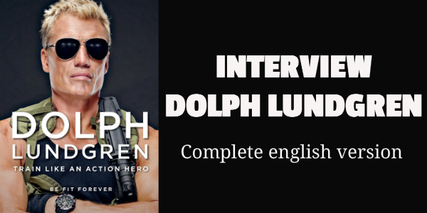 Dolph Lundgren, Train Like an Action Hero. Interview. English