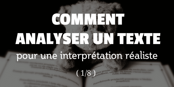 comment analyser un texte